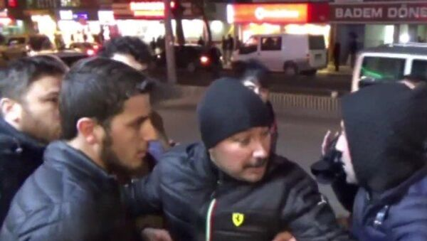 Manifestación de protesta kurda en Diyarbakir - Sputnik Mundo