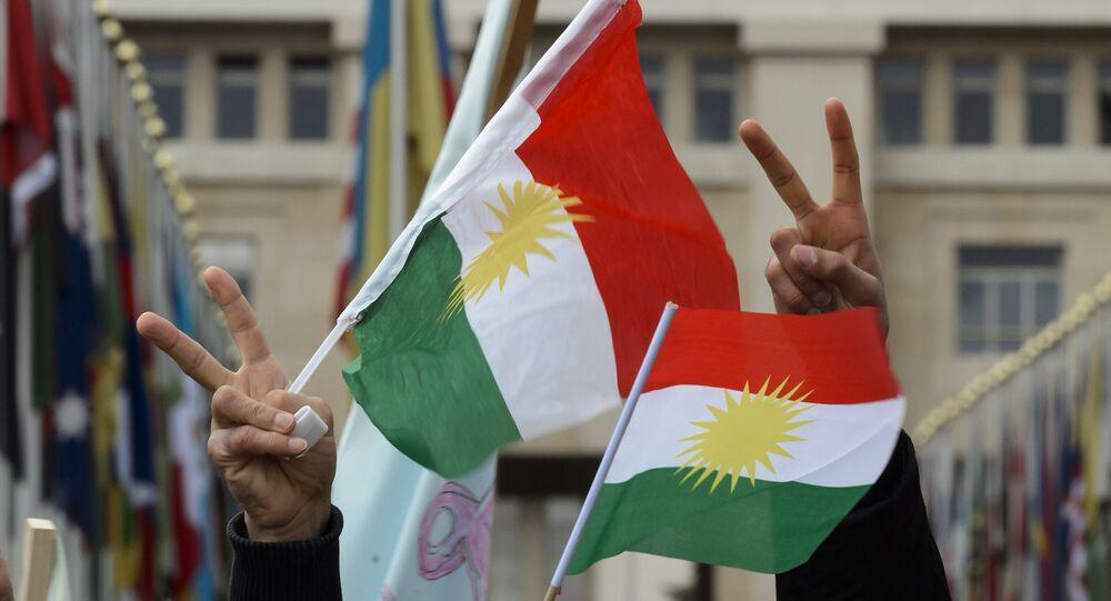 Banderas del Kurdistán