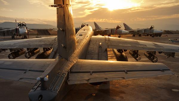 Fuerzas Aeroespaciales de Rusia en la base siria Hmeymim - Sputnik Mundo