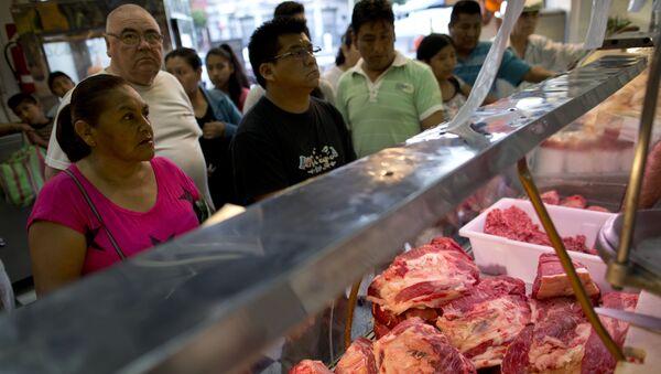 Un mercado en Buenos Aires, Argentina - Sputnik Mundo