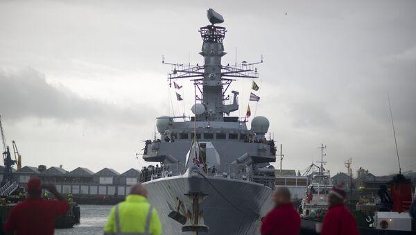 Fragata Tipo 23 HMS Iron Duke - Sputnik Mundo