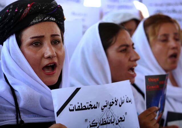 Las yazidíes iraquíes (archivo)