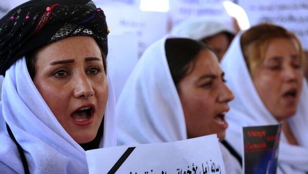 Iraqi Yazidi women - Sputnik Mundo