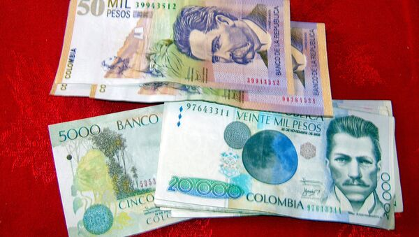 Colombian Money: 50,000 Pesos - Sputnik Mundo