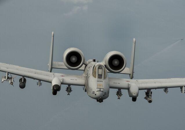 Avion A-10 de la Fuerza Aérea de EEUU