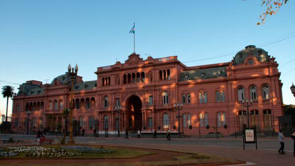 La Casa Rosada, Buenos Aires - Sputnik Mundo
