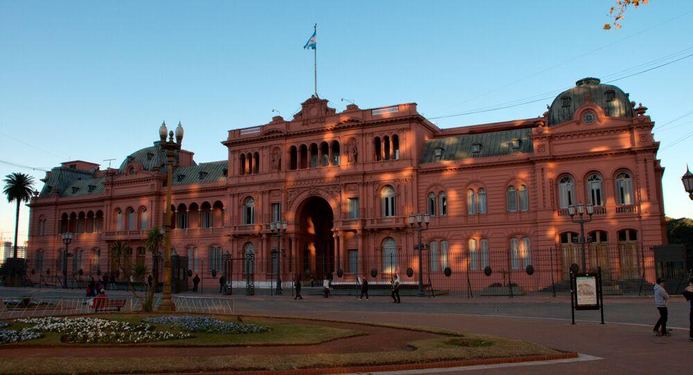 Casa Rosada, sede del Gobierno de Argentina (archivo)