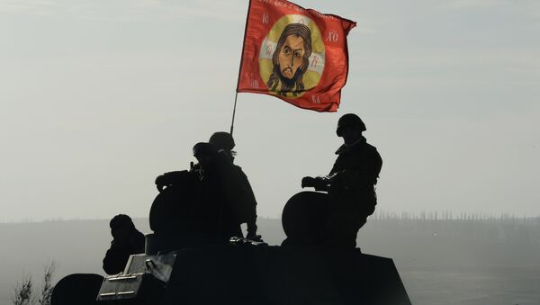 La retirada del armamento pesado de la RPD de la región de Donetsk - Sputnik Mundo