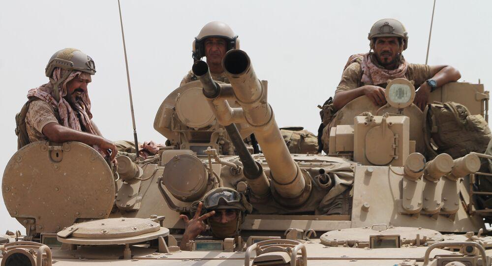 Militares saudíes (imagen referencial)