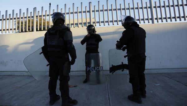 Los policías mexicanos - Sputnik Mundo