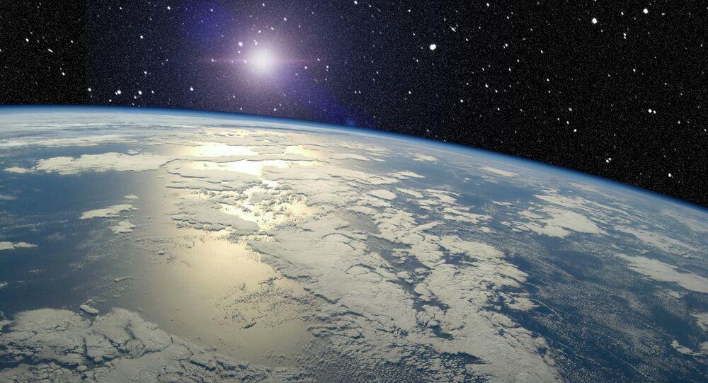Vista de la Tierra desde el espacio (archivo)