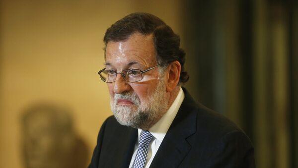 Mariano Rajoy, líder del conservador Partido Popular (PP) - Sputnik Mundo