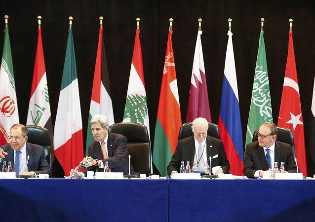 Reunión del Grupo internacional de apoyo a Siria en Múnich (archivo)