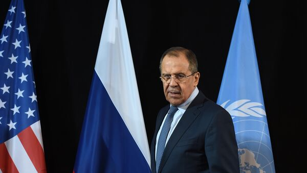Russian Foreign Minister Sergei Lavrov arrives for a news conference after the International Syria Support Group (ISSG) meeting in Munich, southern Germany, on February 12, 2016. - Sputnik Mundo