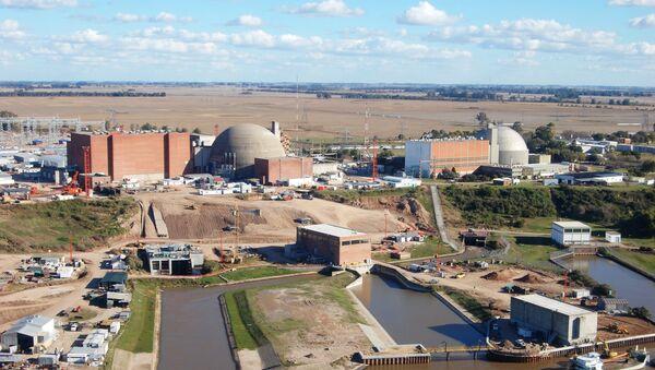 Central nuclear Atucha - Sputnik Mundo