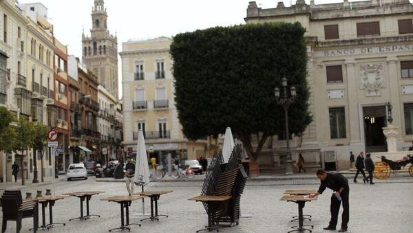 La ciudad española de Sevilla - Sputnik Mundo