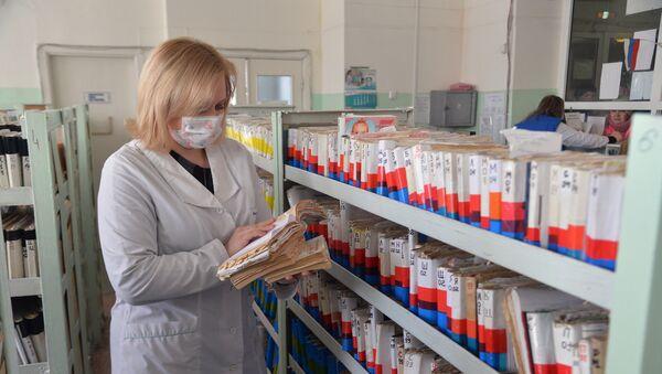 Un brote epidémico en Rusia (archivo) - Sputnik Mundo