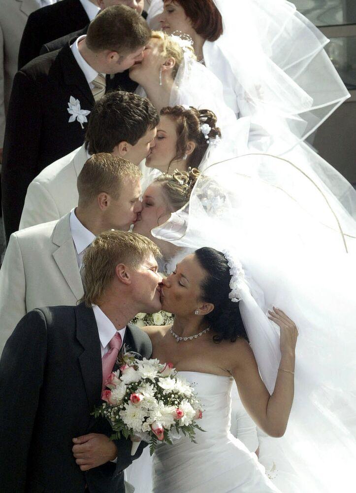 Así son los besos más bellos e insólitos