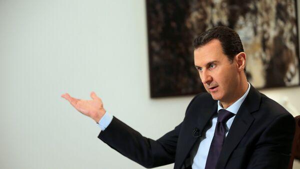 Bashar Asad, presidente sirio - Sputnik Mundo