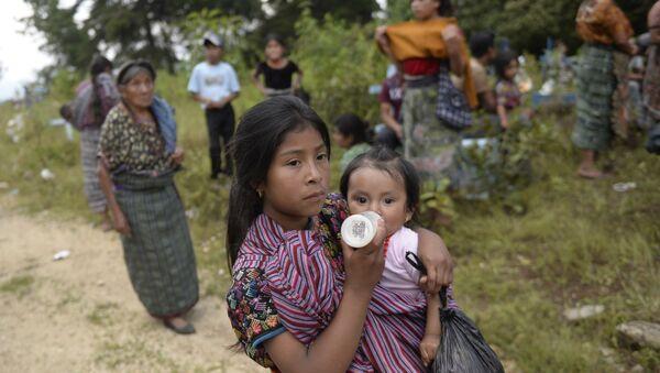 Un pueblo indígena en Guatemala - Sputnik Mundo