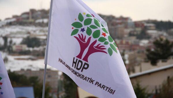 La bandera de HDP - Sputnik Mundo