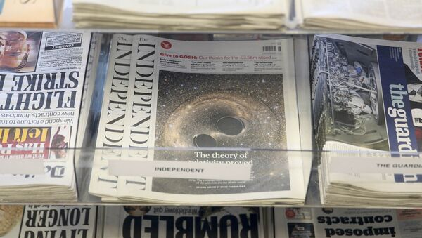 The Independent desaparece de los kioskos - Sputnik Mundo
