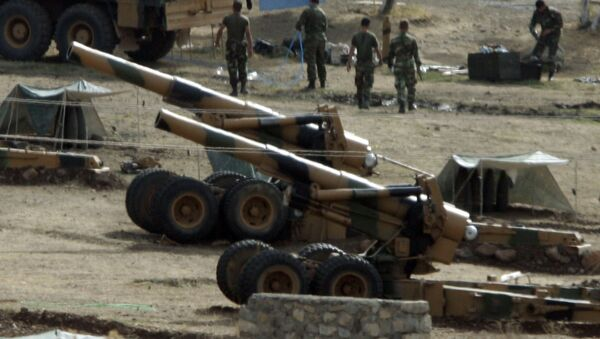 Artillería turca (Archivo) - Sputnik Mundo