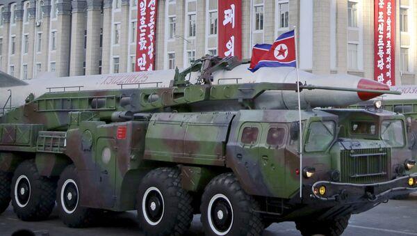 Misil norcoreano - Sputnik Mundo