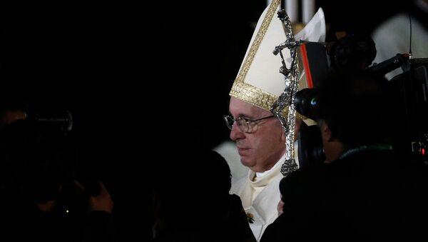 Papa Francisco en México - Sputnik Mundo