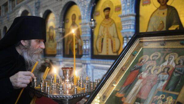 Un clérigo de la Iglesia ortodoxa rusa - Sputnik Mundo