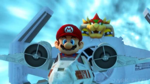 Star Kart: Mario Bros protagoniza el universo de Star Wars - Sputnik Mundo