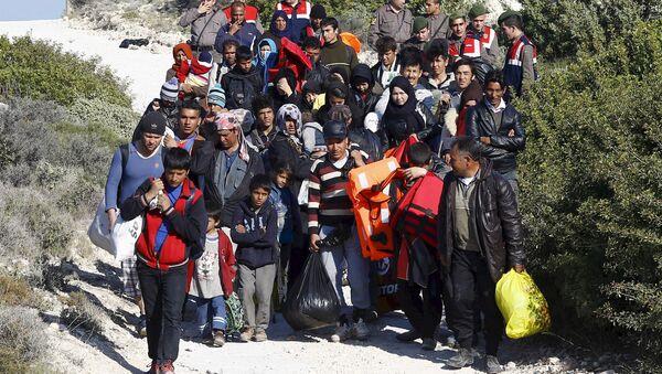 Refugiados en Turquía - Sputnik Mundo