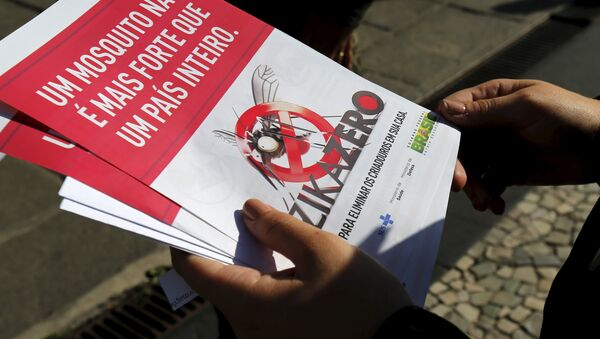 Brasil autoriza prueba que detecta la presencia del virus zika en 20 minutos - Sputnik Mundo