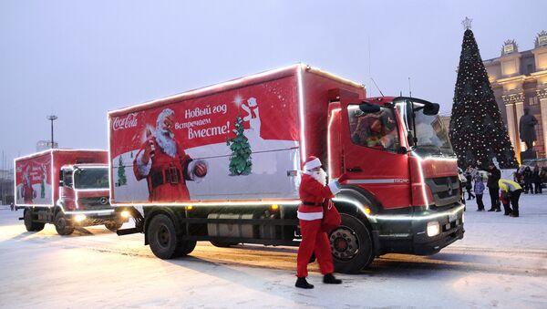 Campaña navideña de Coca-Cola - Sputnik Mundo