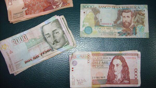 Pesos colombianos - Sputnik Mundo