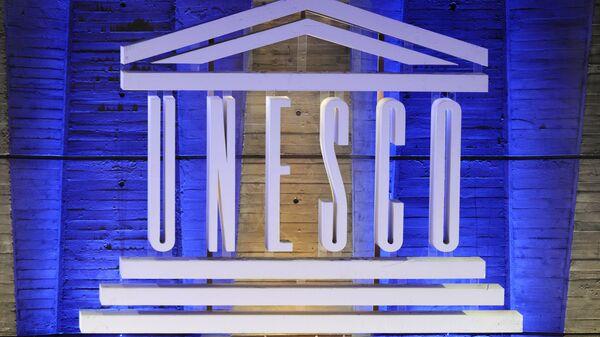 El logo de la Unesco (archivo) - Sputnik Mundo