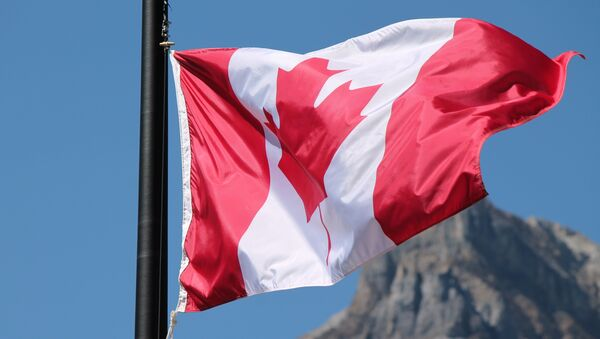 Bandera de Canadá (archivo) - Sputnik Mundo