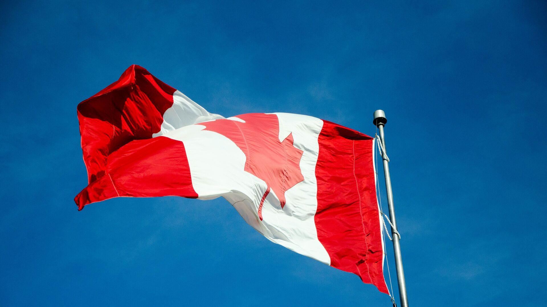 Bandera de Canadá - Sputnik Mundo, 1920, 12.04.2021