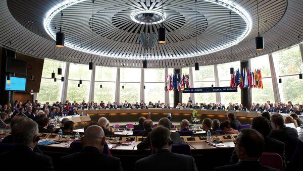 Una sesión del Tribunal Europeo de Derechos Humanos de Estrasburgo - Sputnik Mundo