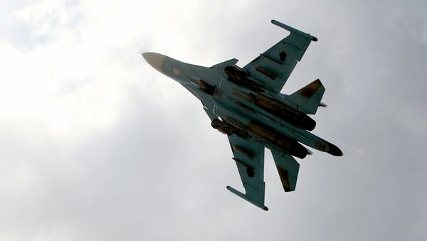 Avión Su-34 de las Fuerzas Aeroespaciales de Rusia en Siria (archivo) - Sputnik Mundo