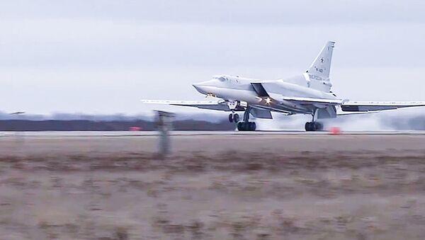 Tupolev Tu-22 M3 strategic bombers hit terrorists in Syria - Sputnik Mundo