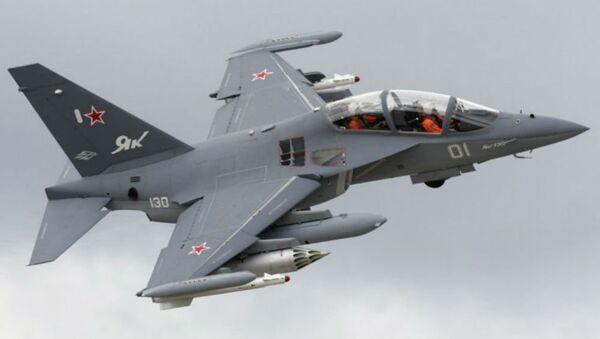 Russian-made Yak-130 trainer/strike aircraft - Sputnik Mundo