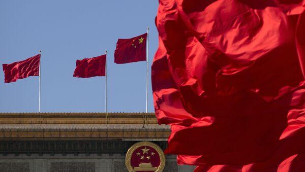 La bandera nacional de China - Sputnik Mundo