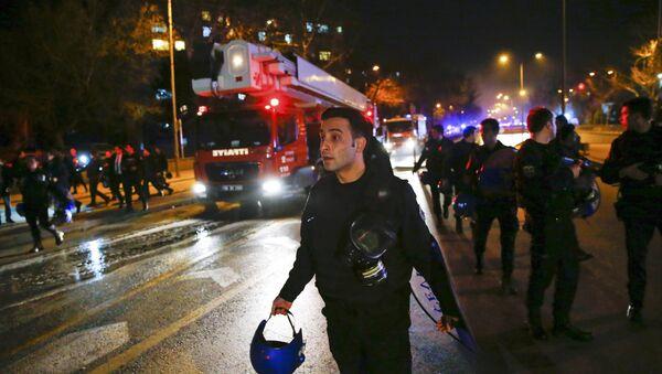 Explosión en Ankara, el 17 de febrero de 2016 - Sputnik Mundo