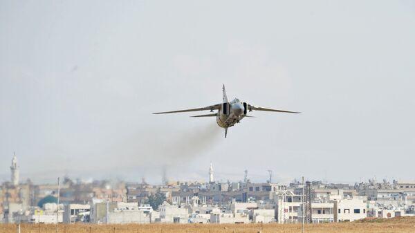 Военная авиабаза Хама в Сирии - Sputnik Mundo