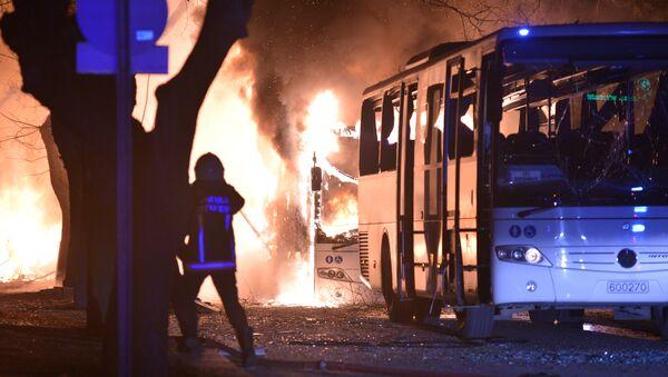 Atentado en Ankara - Sputnik Mundo