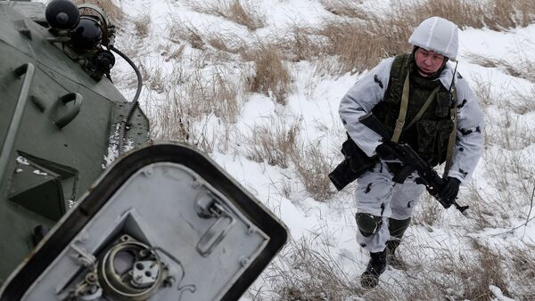 Un pacificador del Distrito Militar Central - Sputnik Mundo