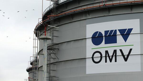 El logo de la compañía OMV - Sputnik Mundo