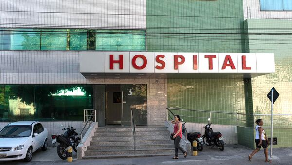 Hospital en Brasil - Sputnik Mundo