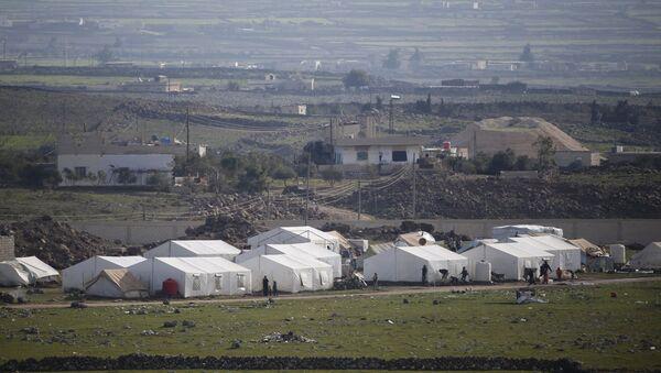Frontera entre Siria e Israel - Sputnik Mundo